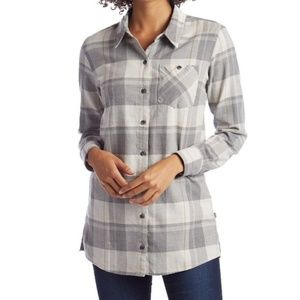 Patagonia Aspen Forest Plaid Long Sleeves Tunic L